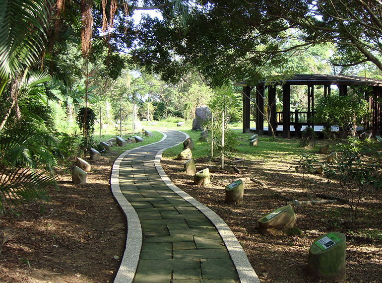 The butterfly path on Jiannan Road